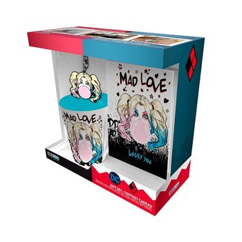 Set cadou Harley Quinn - Mad Love