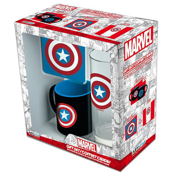 Set de regalo  Marvel - Captain America