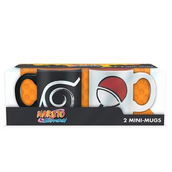 Coffret cadeaux Naruto Shippuden - Konoha & Uchiha