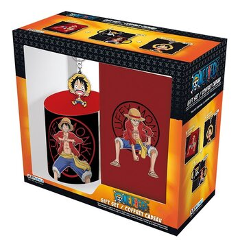 Set de regalo One Piece - Luffy