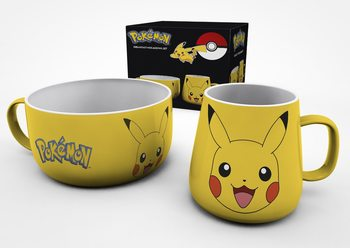 Kit Regalo Pokemon - Pikachu