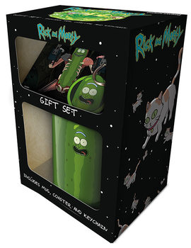 Dárkový set  Rick and Morty - Pickle Rick