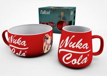 Set de regalo  Set de desayuno Fallout - Nuka Cola