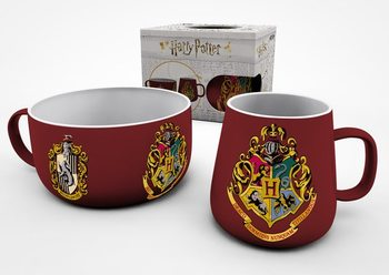 Set de regalo  Set de desayuno Harry Potter - Crests