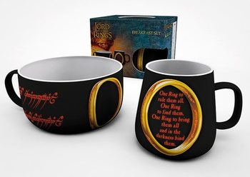 Set Petit Déjeuner Lord of the Rings - One Ring Assortiment cadeaux