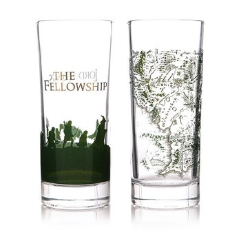 Stapânul Inelelor - The Fellowship Set cadou