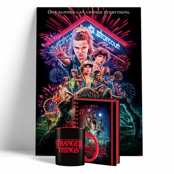 Coffret cadeau Stranger Things