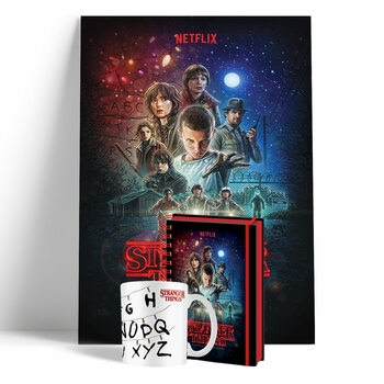 Set cadou Stranger Things - Season 1