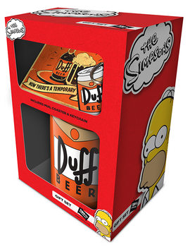 The Simpsons - Duff Darilni set