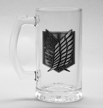 Attack on Titan (Shingeki no kyojin) - Scout Symbol Glas