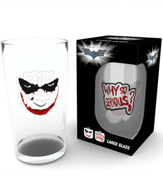 Batman - The Dark Knight - Serious Glas