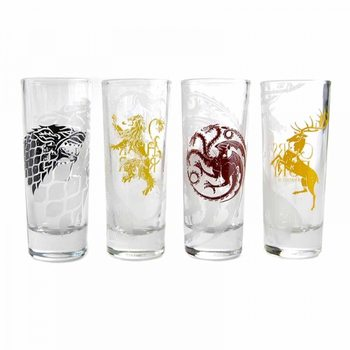 Game of Thrones - All Houses Glas
