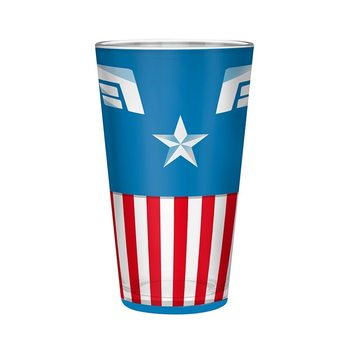 Marvel - Captain America Glas