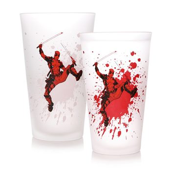 Marvel - Deadpool Glas
