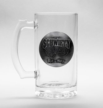 Rick And Morty - Get Schwifty Glas