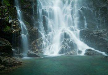 Glasbilder Cascades