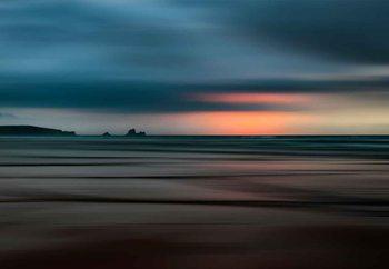 Glasbilder The Painted Beach