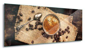 Принт стъкло Hot Coffee