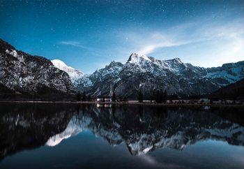Принт стъкло Night Reflections