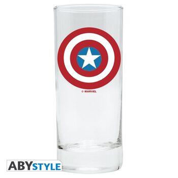 Glass Captain America
