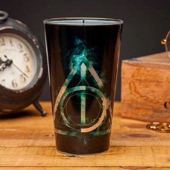 Glass Harry Potter - Deathly Hallows