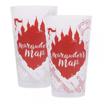 Glass Harry Potter - Marauders Map