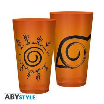 Glass Naruto Shippuden - Konoha & Sceau