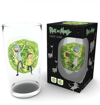 Glass Rick and Morty - Portal