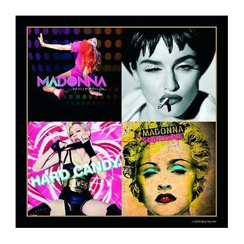 Madonna – Album Montage Inc Hard Candy & Celebration Glassbrikke