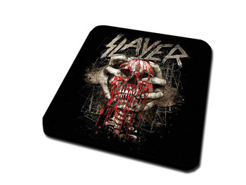 Slayer – Skull Clench Glassbrikke