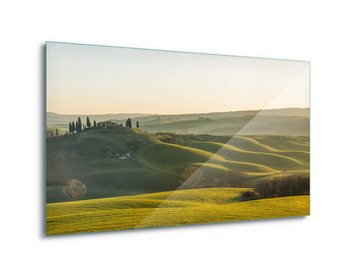 Glasschilderij Tuscany