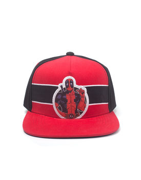Gorra  Deadpool - Stripe Comic Badge