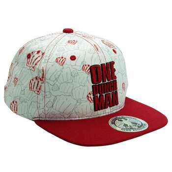 Gorra One Punch Man - Beige & Red - Punches