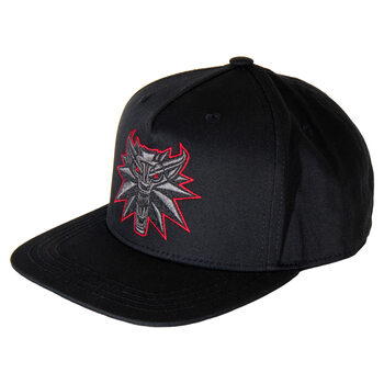 Gorra The Witcher 3: Wild Hunt - Black Wolf