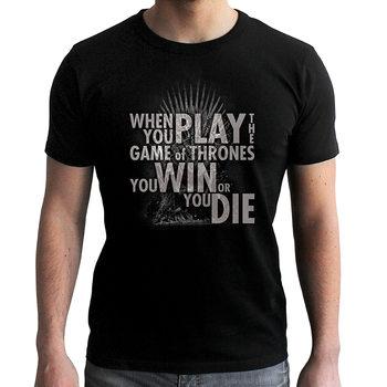 T-shirt Gra o tron - Quote Trone