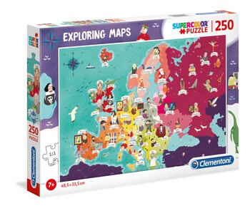 Puzzle Great People in Europe