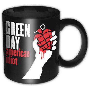 Hrnčeky Green Day - American Idiot