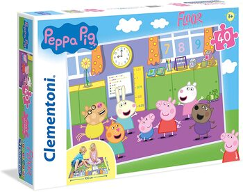 Pussel Greta Gris (Peppa Pig)