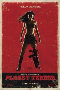 Rámovaný plakát Grindhouse - loaded