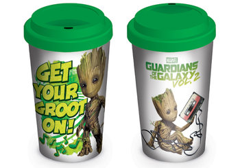 Taza De Viaje Guardianes de la Galaxia Volumen 2 - Get Your Groot On