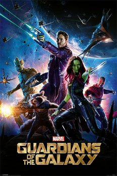 Guardians Of The Galaxy - One Sheet - плакат (poster)