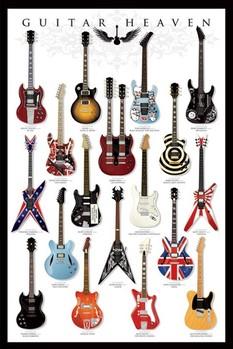 Guitar heaven - плакат (poster)