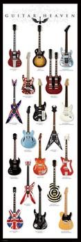 Αφίσα πόρτας  Guitar heaven