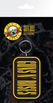 Guns N Roses - Logo kulcsatartó