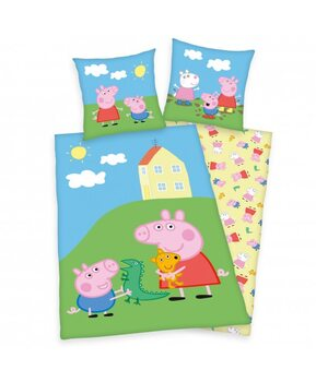 Bettwäsche Gurli Gris (Peppa Pig)