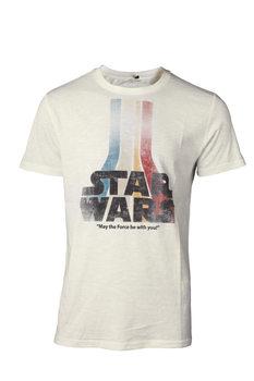 T-shirt Gwiezdne wojny - Retro Rainbow Logo