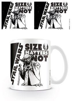 Kubek Gwiezdne wojny - Size Matters Not