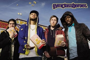 Gym Class heroes - popcorn - плакат (poster)