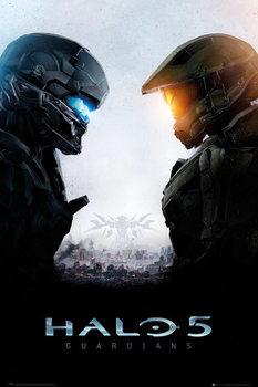 Halo 5 - Guardians - плакат (poster)