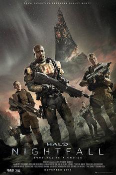 Halo: Nightfall - Key Art - плакат (poster)